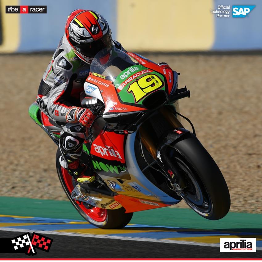 【APRILIA】MotoGP Rd.5 チームグレシーニの2人がともに10位以内でフィニッシュ Webike ギャラリー ウェビックギャラリー
